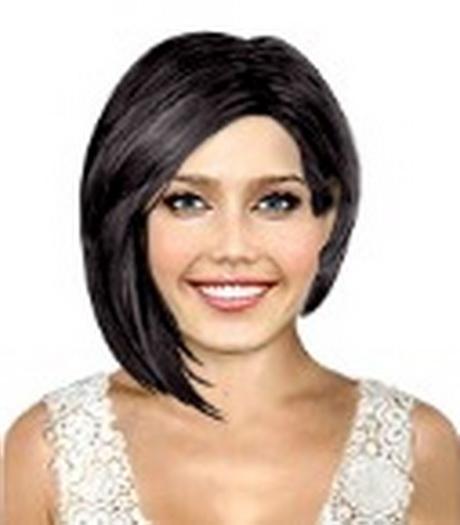 Asymmetrische Kapsels Halflang Haar