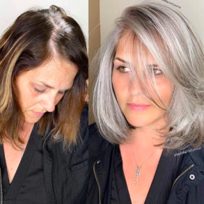 how to go from dark hair to blonde