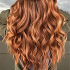 Rood haar blonde highlights